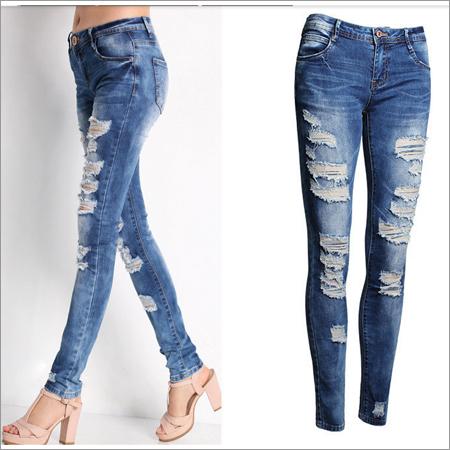 Girl Rafoo Jeans