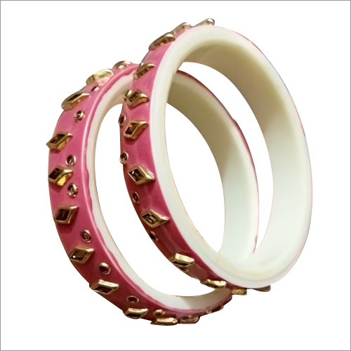 Ladies Colored Acrylic Bangles