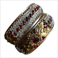 Ladies Designer Diamond Bangles