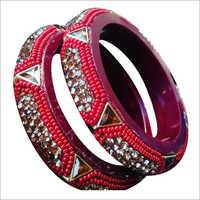 Ladies Designer Kundan Bangles