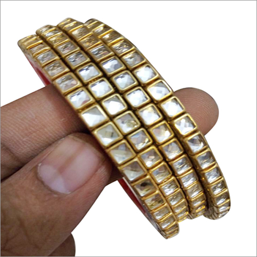 Ladies Artificial Diamond Bangles