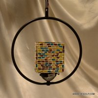 HANGING,MOSAIC GLASS HANGING,RESIDENTIAL HANGINGDECORATIVE ,GLASS HANGING