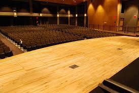 Auditorium Wood Flooring