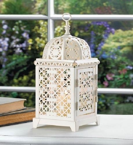Moroccan Aura Candle Lantern