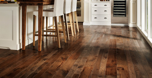 Stained Wood Flooring