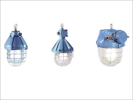 LED Flame Proof Well Glass Light