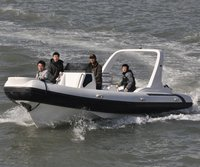 7.5m Military Rigid Inflatable Boat with Motor