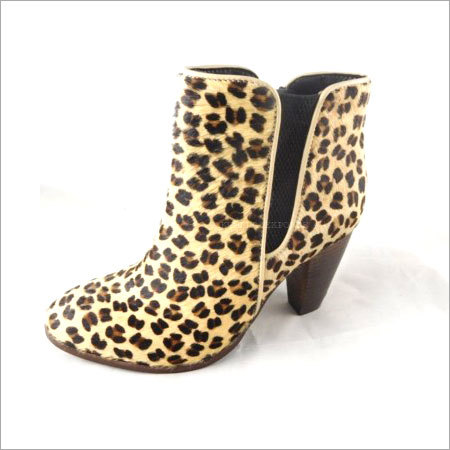 Leopard Chelsea Boots