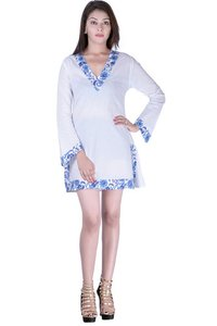 Long Sleeve Cotton Dress casual beachwear for women Dresses