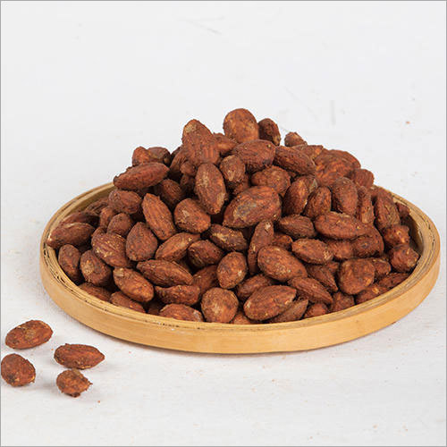 Pizza Almonds