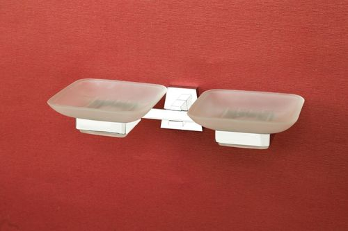 Double Soap Dish Holder