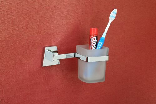 Wall Mounted Toothbrush Cup Holder