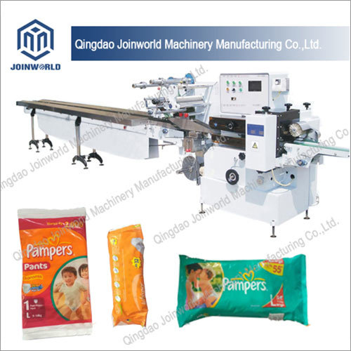 Vacillate Flow Wrapping Machine