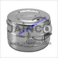 Sterilizer Shallow Dressing Drum