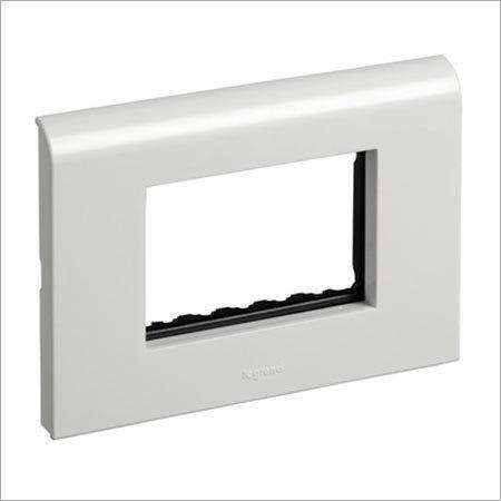 White Plate Frame 3 Module