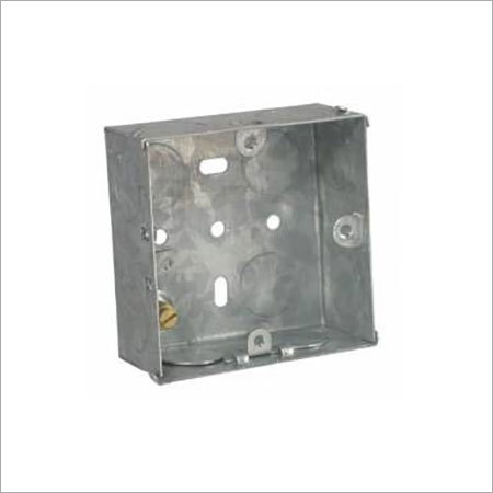 Metal Flush Mounting Box 3 Module