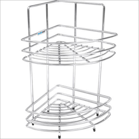Double Corner Kitchen Basket