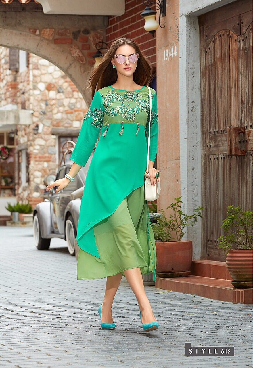 Westurn And Fancy Kurti