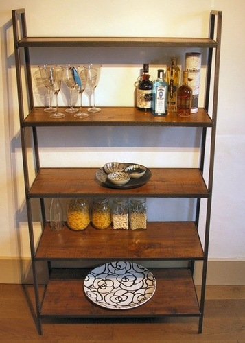 Designer Iron Bookshelf
