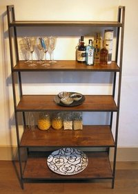 Designer Iron Bookshelf