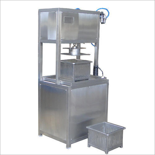 Pneumatic Paneer Press Machine