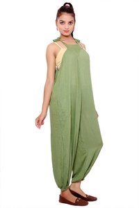 Jumpsuits for Women Rayon Crepe Casual Fit Long Jumpsuit