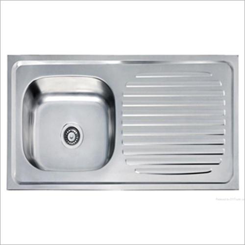Single Bowl Drainboard Steel Sink