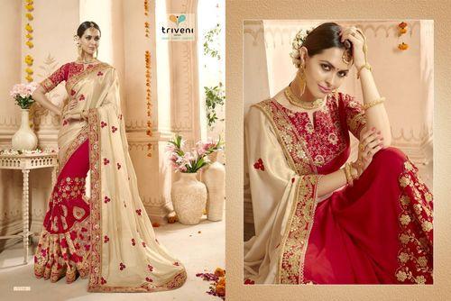 Gorgeous Bridal red saree