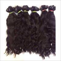 Raw Virgin Machine Wefted Natural Wavy Hair