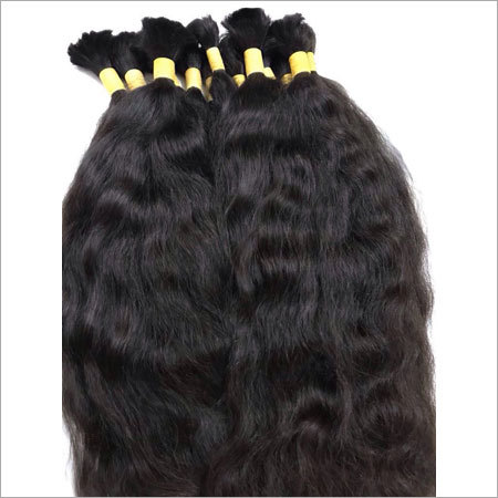 Temple Raw Unprocessed Bulk Hair