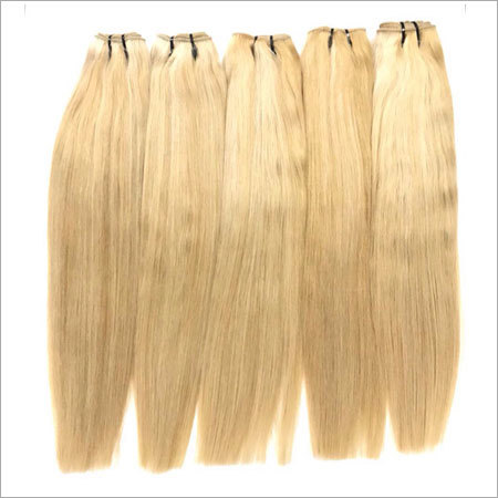 Virgin Remy Platinum Blonde Hair