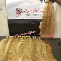 Virgin Temple Blonde Bulk Hair