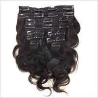 Clip In Natural Hair Extension Wavy