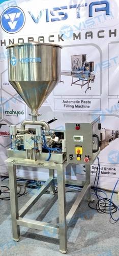 Semi Automatic Double Head Liquid Filling Machine
