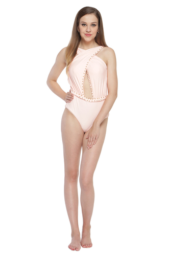 Pink Knitted Bikini