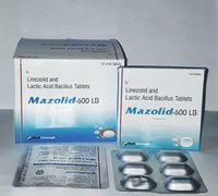 LINEZOLID IP 600 MG. + LACTIC ACID BACILLUS 120 MS.