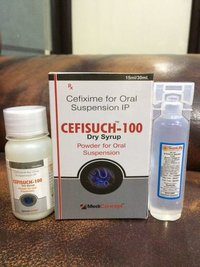 CEFIXIME-100 MG. DRY SYRUP