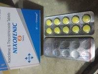 Aceclofenac 100 mg + Thiocolchicoside 8 mg Tablets