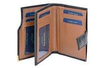 Analine Leather Men's Note Case
