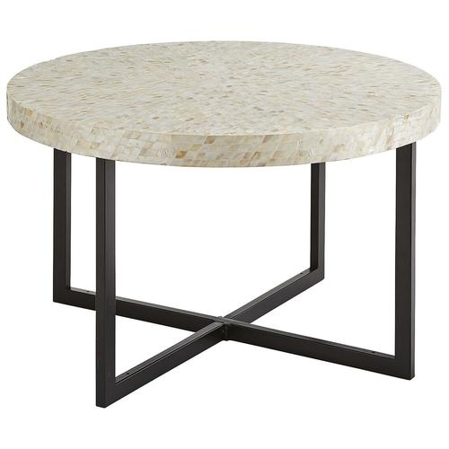 Mother Of Pearl Square Coffee Table