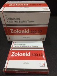 Linezolid 600mg+Lactic Acid Bacillus 120 Million Spores