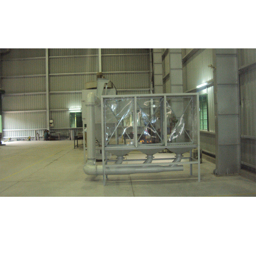 Standalone Downdraft Table Dust Collector