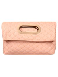 Anekaant Duvet Dusty Pink PU Hand-held bag