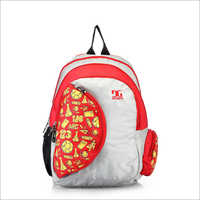 Printed Backpack Bag