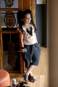 FANCY TOP AND PANTS FOR KIDS