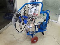 SINGLE BUCKET MILKING MACHINE