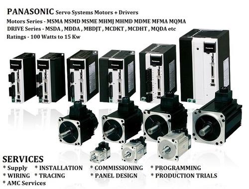 PANASONIC SERVO Solutions Motors Drivers Cables Connectors