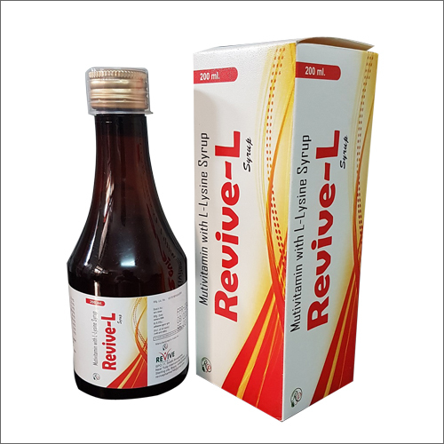 Revive - L Multivitamins & Multinerals Syrup