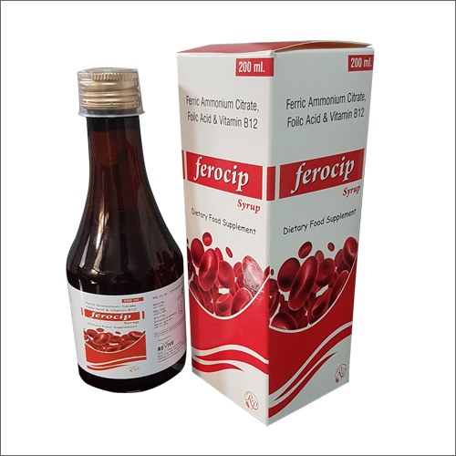 Ferocip Ammonium Citrate Folic Acid & Vitamin B12 Syrup