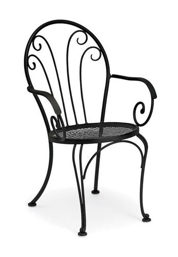 Industrial metal Patio Armchair
